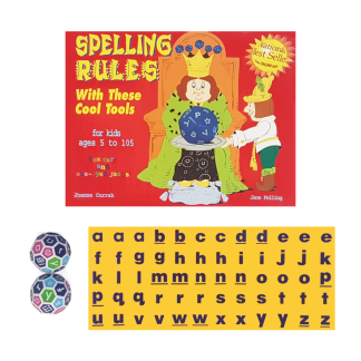 Spelling Rules With These Cool Tools - with tiles and dice - BK11