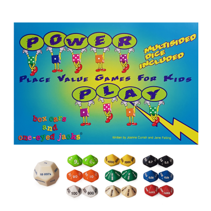 Power Play Place Value Games - with dice - BK14