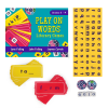 Play On Words - with cards, tiles and dice