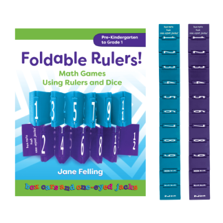 Foldable Rulers - with 2 rulers - BK36