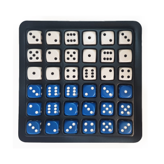 Stratedice Tray with 36 Regular Dice - DC01TRAY