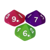 10-Sided Dice Numbered EACH