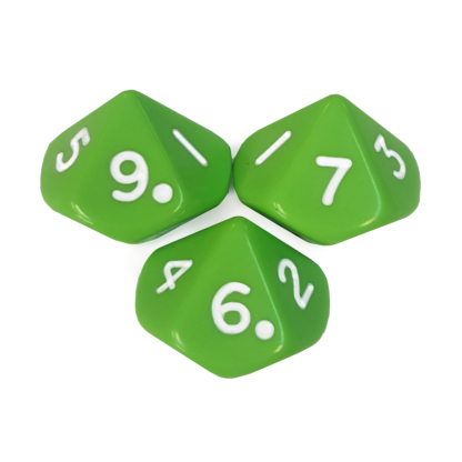 10-Sided Dice Numbered - DC03