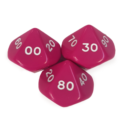 10-Sided Decade Dice - DC04