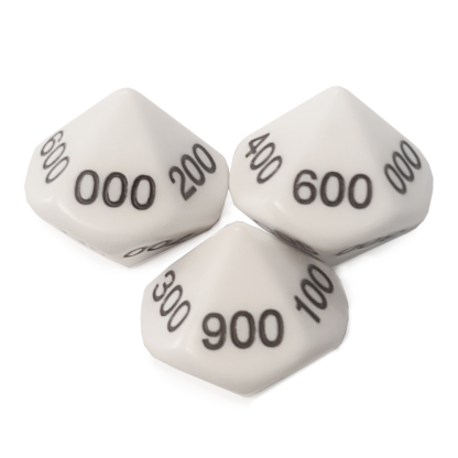 10-Sided 100's Dice - DC05