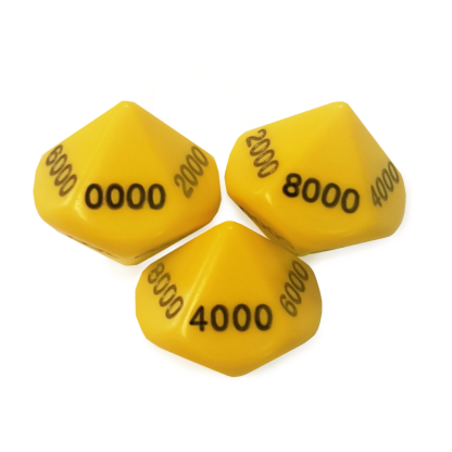10-Sided 1000's Dice - DC06