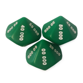 10-Sided Ten Thousands Dice - DC07