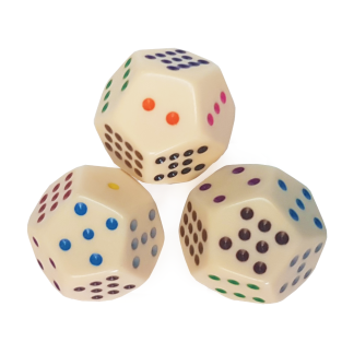 12-Sided Spotted Dice - DC18