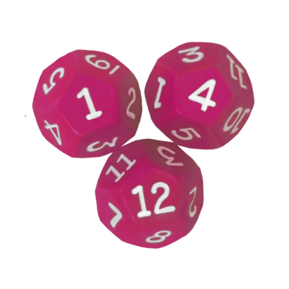 10-sided Tenths Dice - DC11