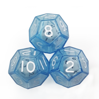 12-Sided Double Dice - DC30