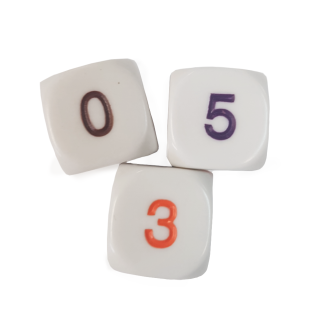 6-Sided 0 to 5 Dice - DC32
