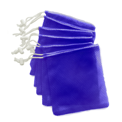 10 Mesh Bags With Toggles (medium) pkg of 10 - MN09BLK