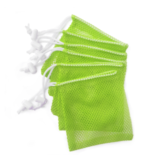 10 Mesh Bags With Toggles